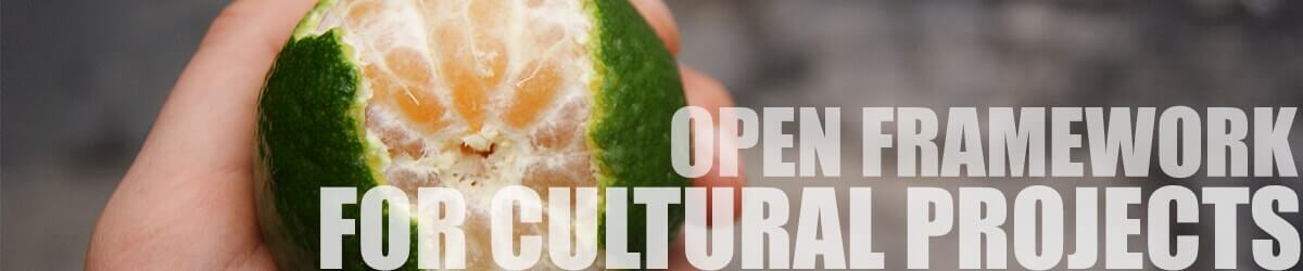 open framework for cultural projects hover